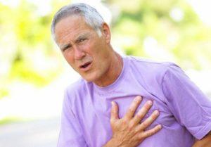 При вдохе колющая боль в области сердца