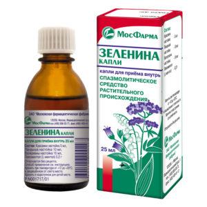 Зеленина капли цена в Томске от 96 руб., купить Зеленина капли, отзывы и инструкция по применению