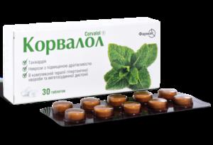 Корвалол в таблетках: показания и инструкция по применению